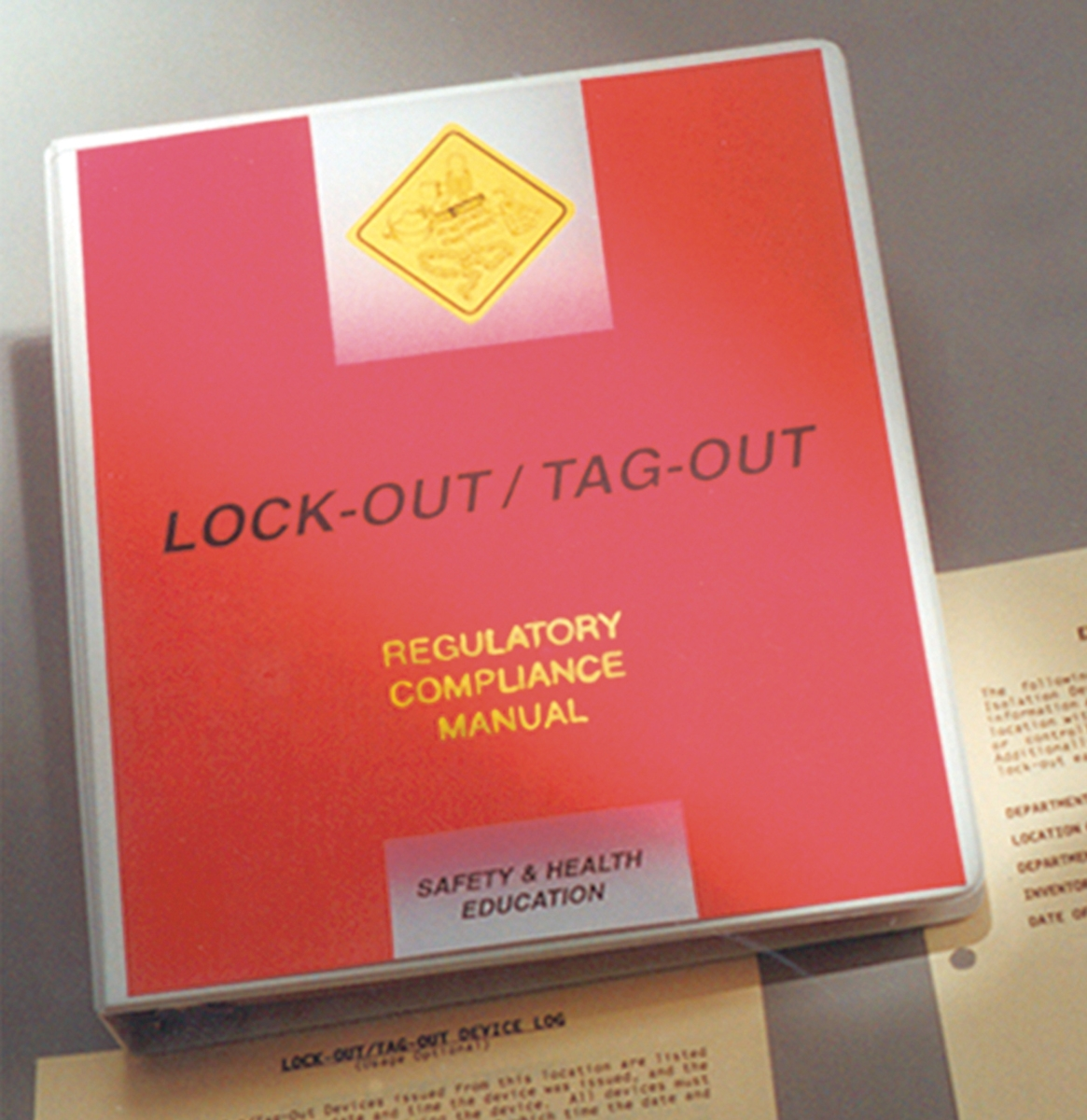 Lockout/Tagout Compliance Manual 1EA