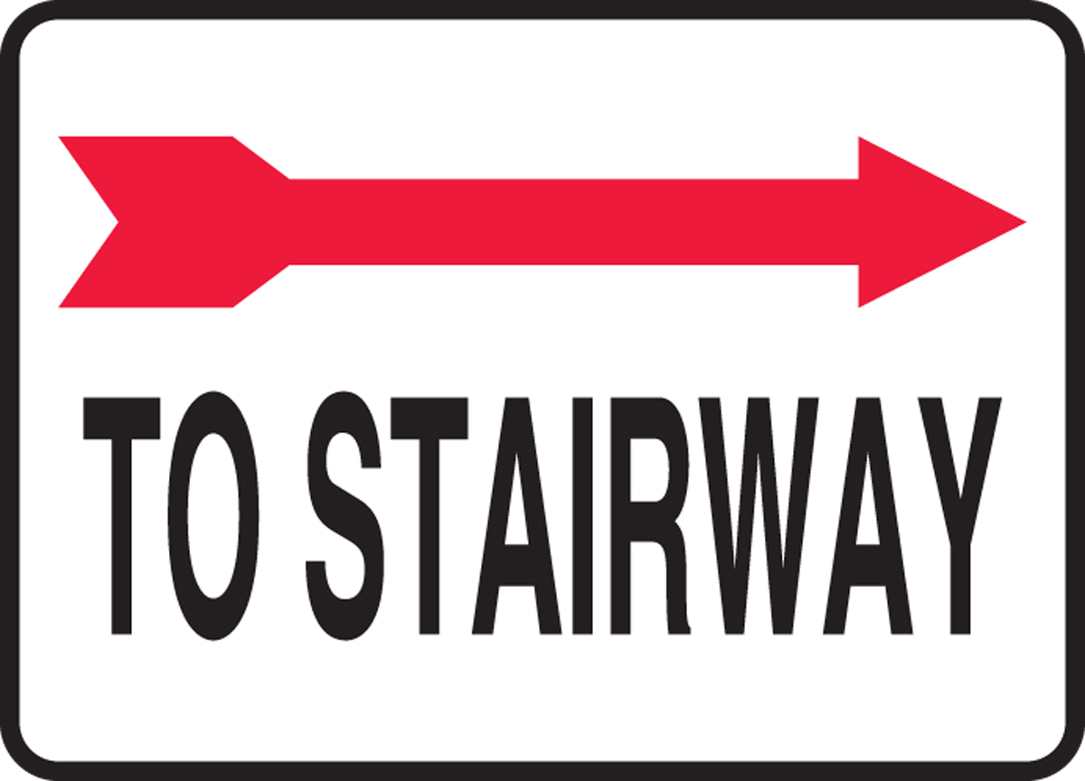 To Stairway (Arrow Right) 10