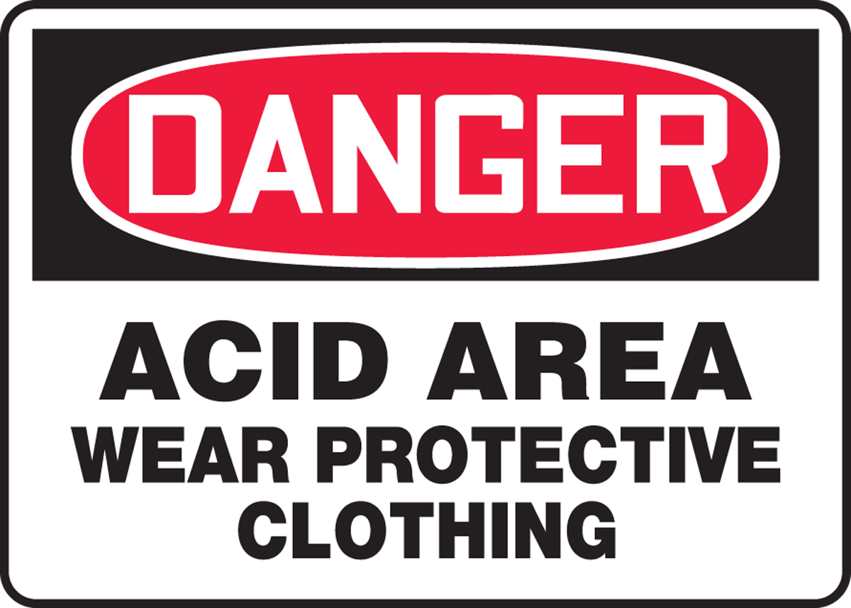 Acid Area Wear Protective Clothing 10