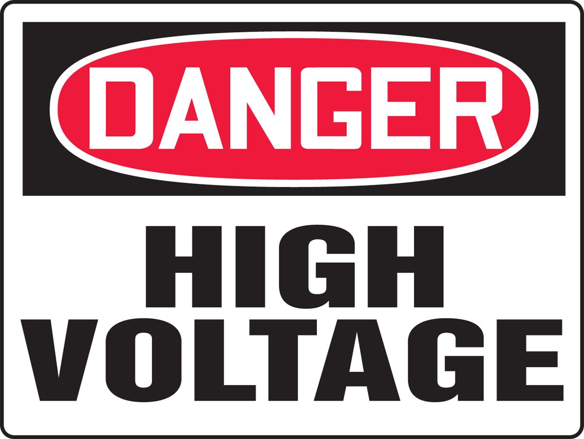 Danger High Voltage 48