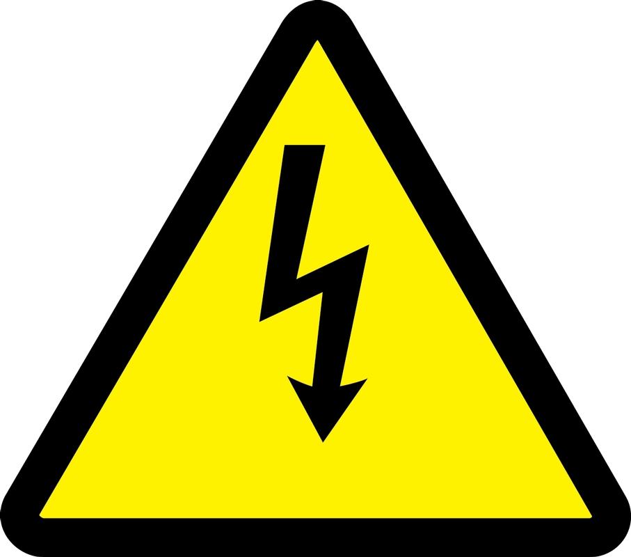 (Electric Voltage Hazard) 12