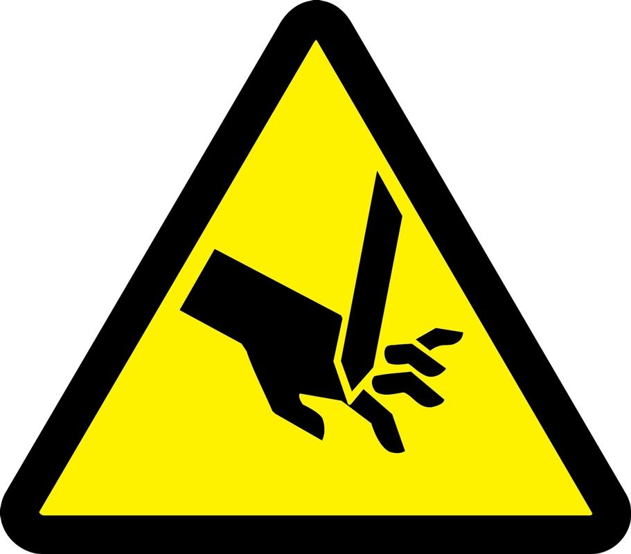 (Cut Or Sever Hazard) 6