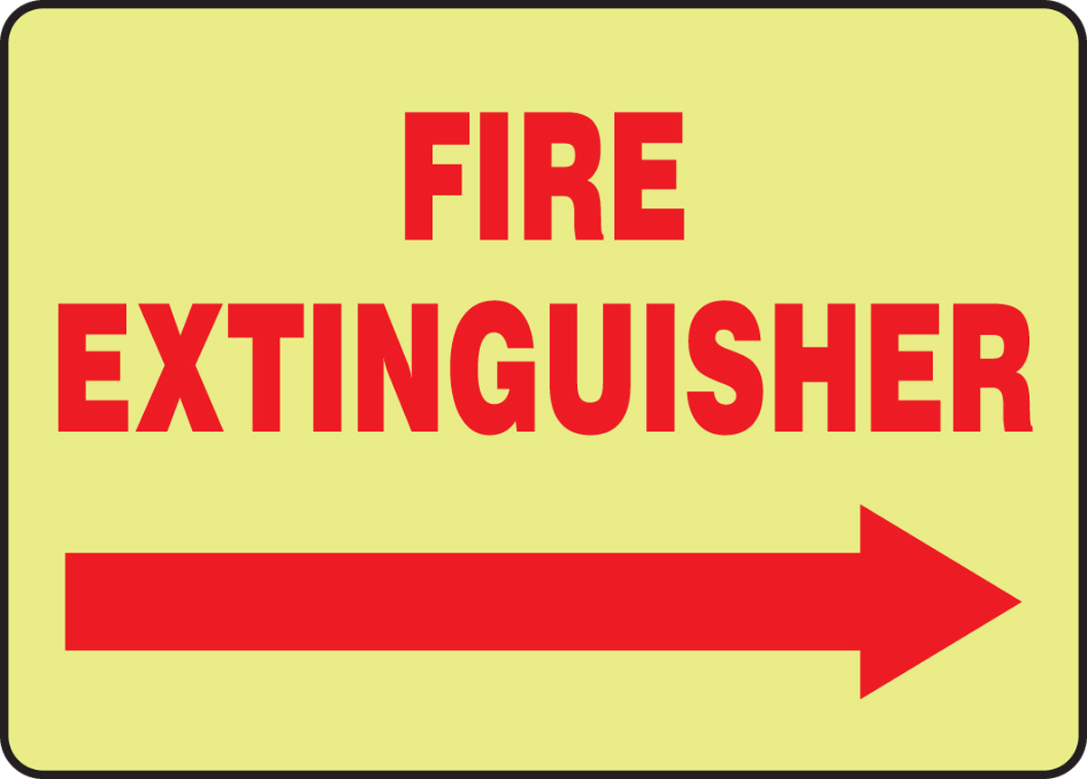 Fire Extinguisher (Arrow Right) (Glow) 10
