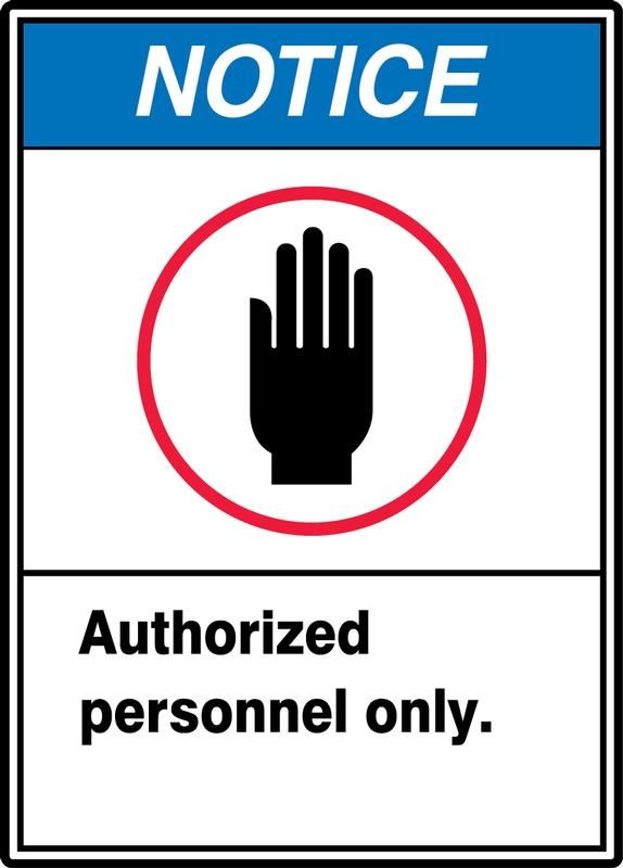Authorized Personnel Only (W/Graphic) 10