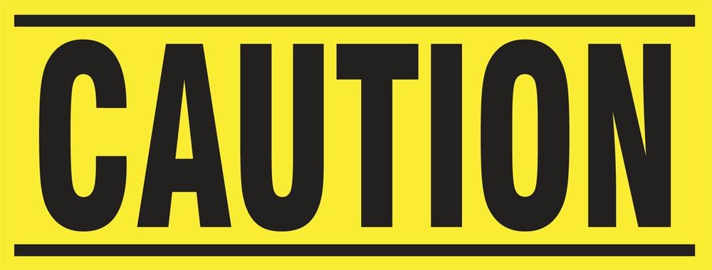 Caution 1EA