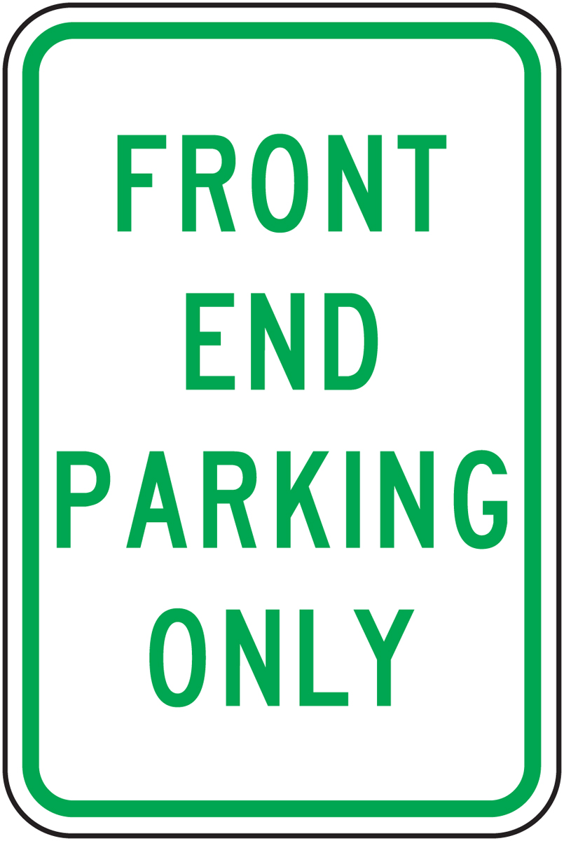 Front End Parking Only 18